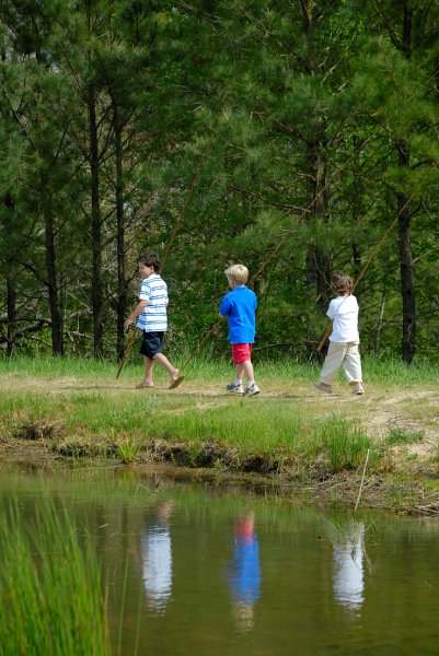 Portofino kids-walking-with-poles